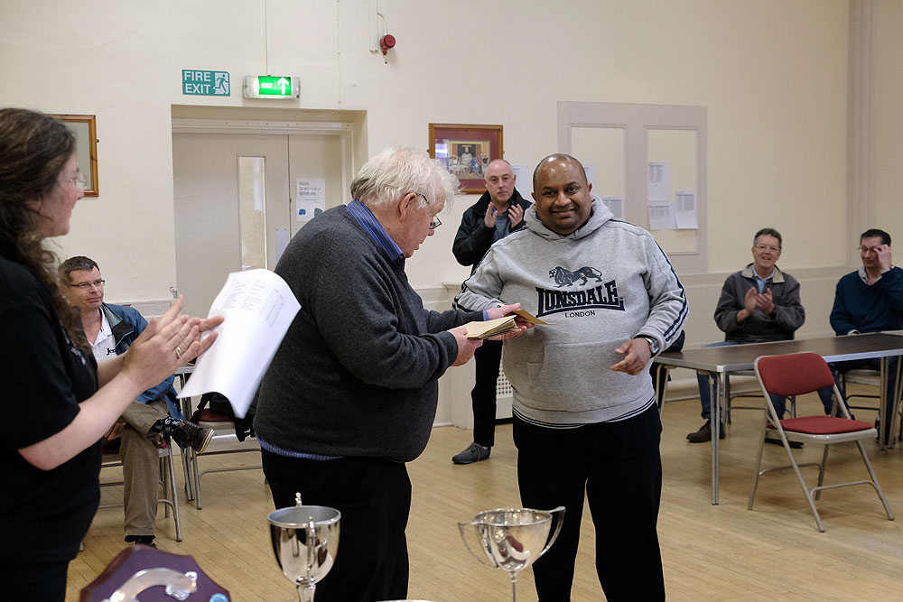 Durham Chess Congress Prize Giving